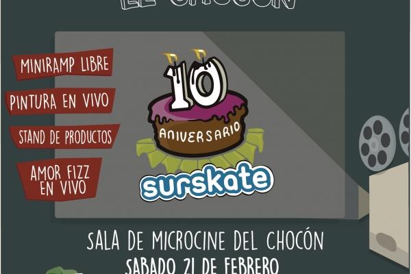 Premiere video surskate 10 años en El Chocón