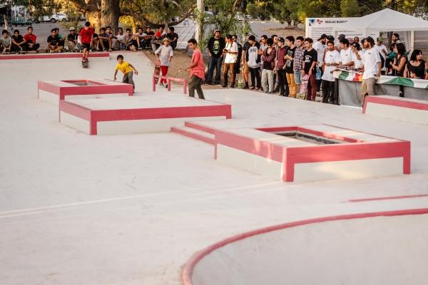 "Inauguración skatepark público ""Parque Valentina Norte"" en Neuquén"