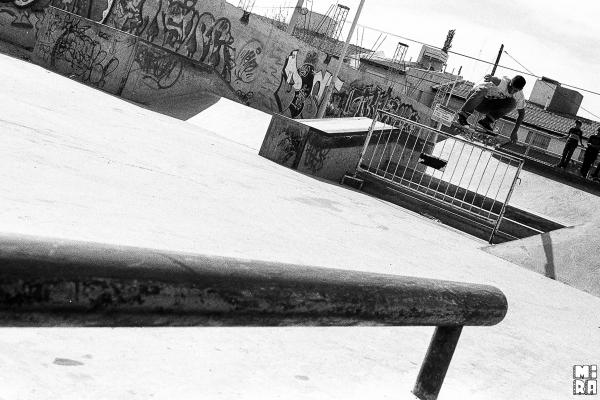 Pablo Godoy, Ollie. Foto: Manu Urbano