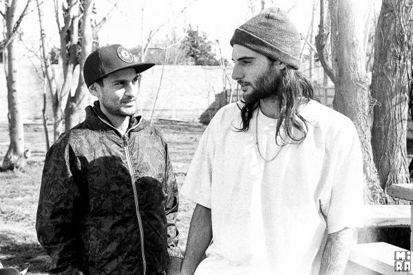 Sergio y Dani. Foto: Manu Urbano