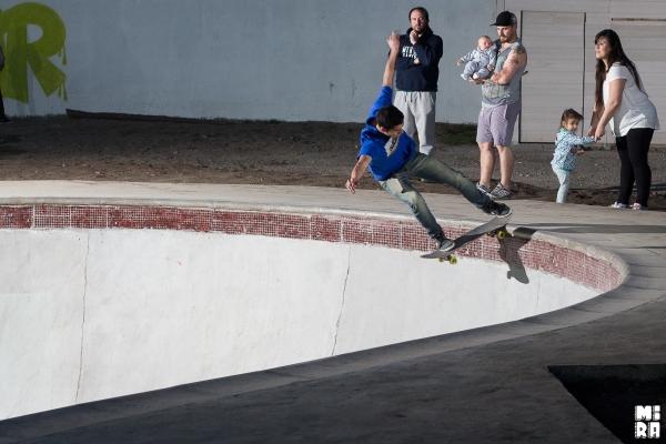 Jesus Suarez , fs tailslide. Foto: Manu Urbano