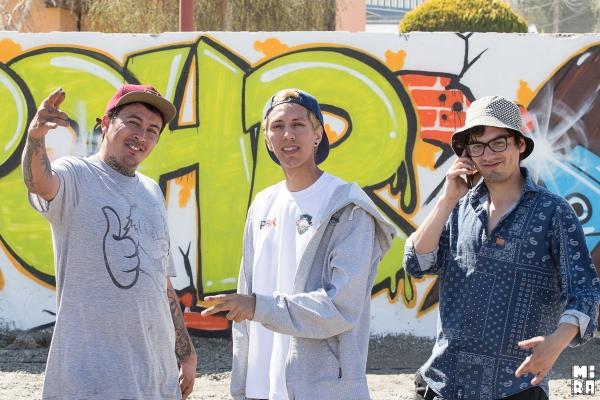 Jhonny Diaz, Nico Hernandez y Taka Contreras. Foto: Manu Urbano