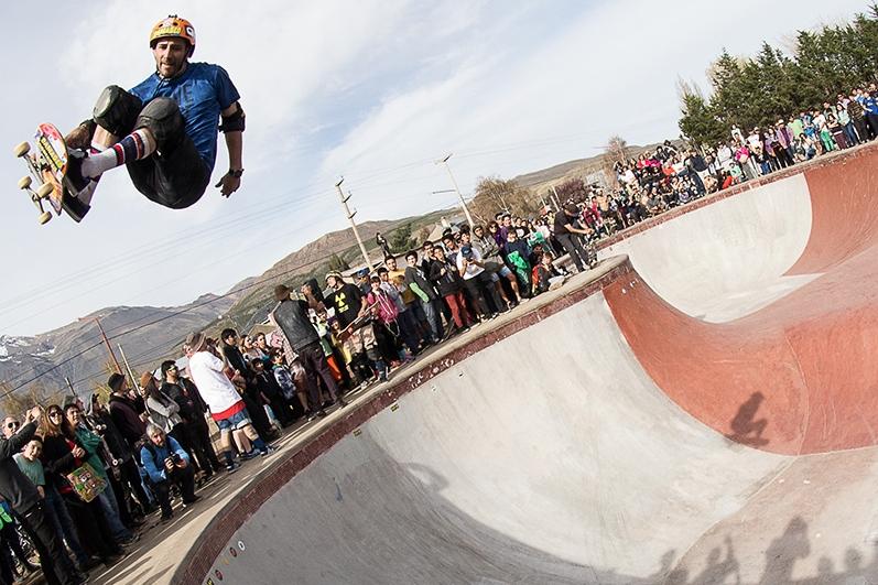 Inauguración de bowl en Esquel