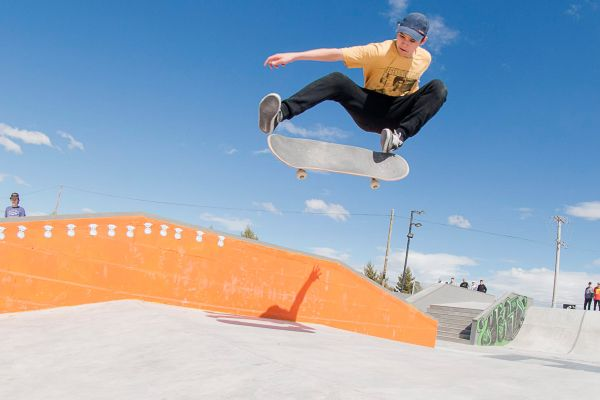 Inauguración skatepark Cutral Có